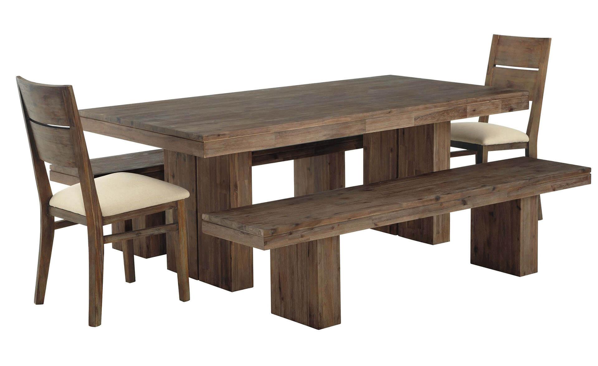 stolovi i stolice od punog drveta